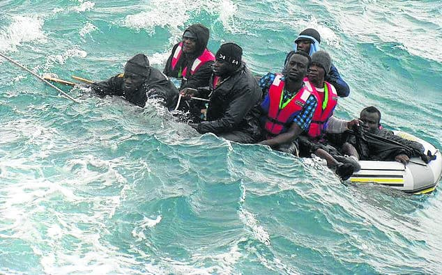More than 400 migrants rescued off Spain's southern coast in past week, many taken to Malaga