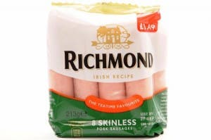 richmond sausages