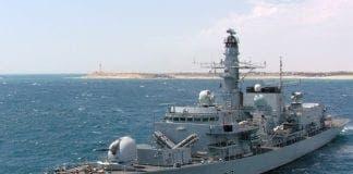 uk warship e