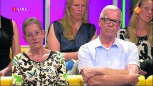 Victim Geert Jan Engelmoer and wife