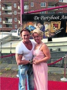 Victim Robert Jan Schoor and wife