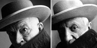 Sandro Miller Irving Penn and Pablo Picasso Cannes France
