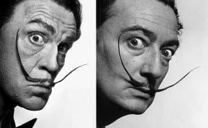 Sandro Miller, Philippe Halsman Salvador Dalí (1954), 2014 1.jpg 2