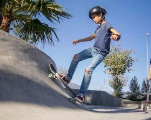 SAN PEDRO: Alex's Skate School