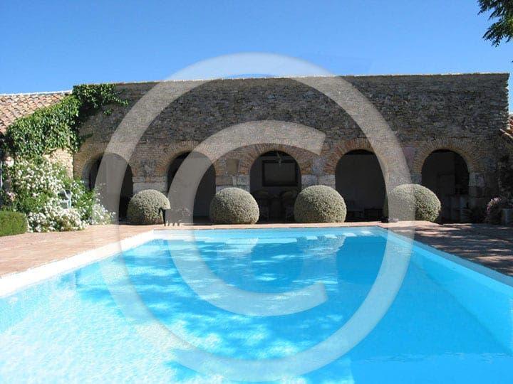 olive press spain ronda pool