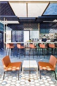 tile awards (last year's interior design winner - el equipo creativo, Blue Wave Cocktail Bar