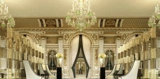 The Peninsula Paris lobby e