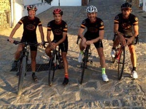 READY TO RIDE: Andalucian Cycling Experience crew