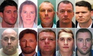 Sammon on most wanted - Second in from the right on top row