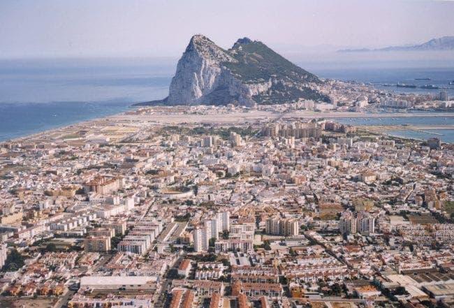 Gibraltar la linea e