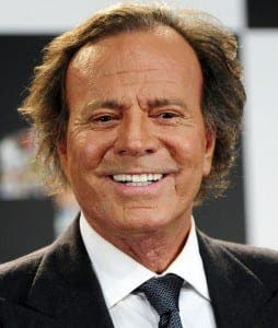 Singing legend Julio Iglesias