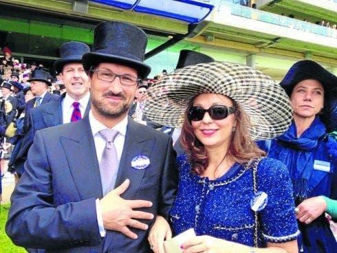 Mark Acklom and Yolanda e