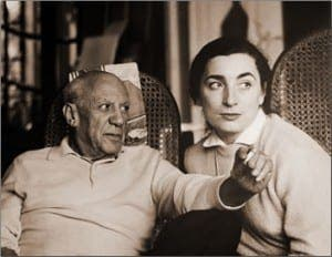 picasso-and-wife