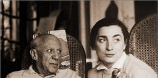 Picasso and Wife