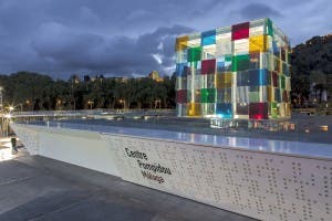 The pop-up Pompidou Centre in Malaga