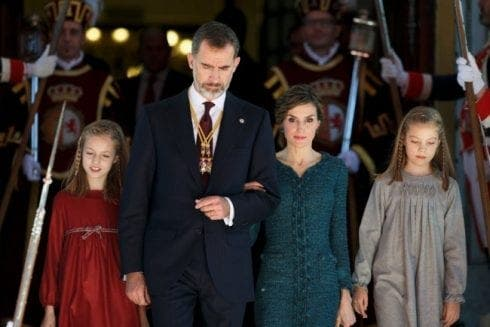 Queen Letizia Her Daughters November e