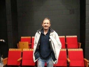 Director Jorge de Juan at the new Cervantes Theatre in London