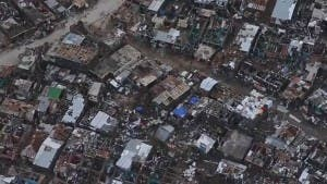 Haiti after devastating hurricane