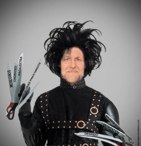 Rajoy Scissorhands