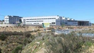 The new Sierra de Malaga hospital in Ronda