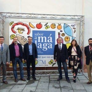 Representatives from Sabor a Malaga