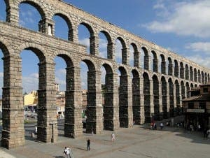 Segovia Aqueduct - a UNESCO World Heritage site