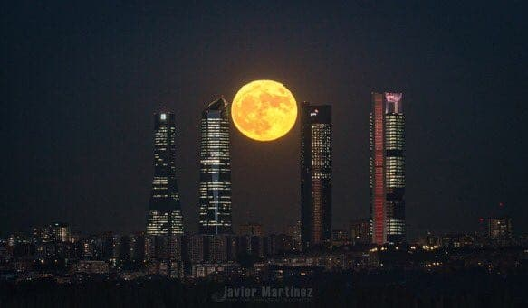 supermoon madrid