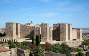 Trujillo Castle in Caceres