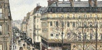 Camille Pissarro   Rue Saint Honoré dans laprès midi