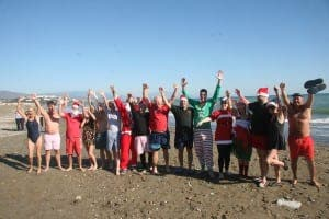 BOXING DAY DIP: Sabi Spartans prepare for swim