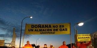 Greenpeace acción Doñana
