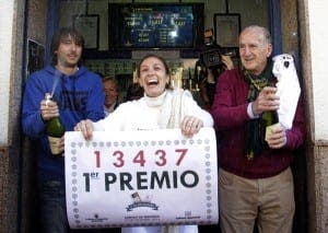 Previous winners of the El Gordo lottery