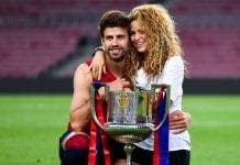 Pique and Shakira home