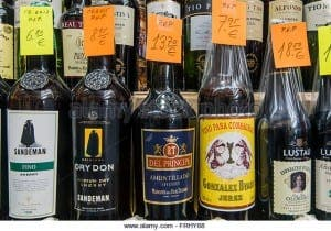 SHERRY CHRISTMAS?: Sales of Spanish fortified wine shrink