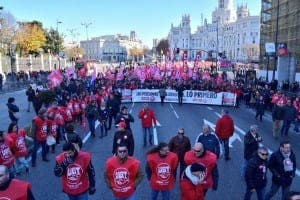 UNITED: 30,000 protestors march against government cuts