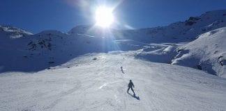 british ski center