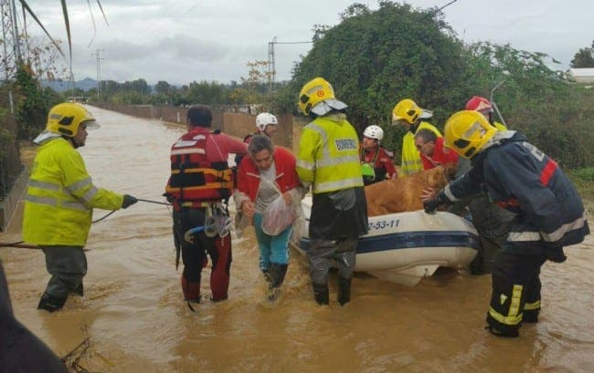 In Pictures Astonishing Shots Of Flood Rescues In Malaga