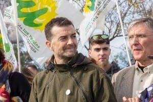 Left wing IU Andalucia leader Antonio Maillo