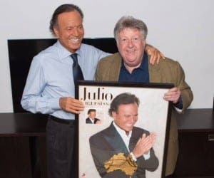 Sony Australia present Julio Iglesias with best selling musician award