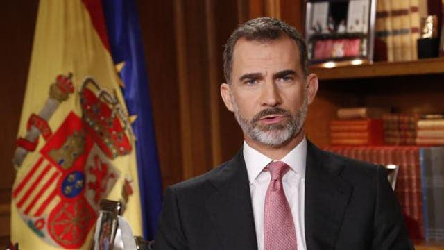 King Felipe blasts Catalonia independence vote as 'divisive'