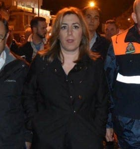 Susana Diaz, Andalucia Junta leader and Andalucia PSOE general secretary