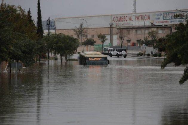 malaga flood e