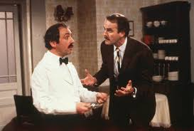 Manuel and Basil Fawlty