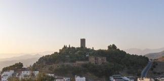 Castillo de Vélez Málaga  e