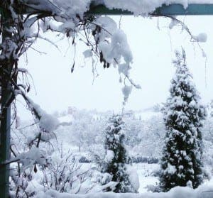 snow in ronda