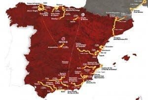 La Vuelta will come back to Andalucia this year