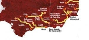 The Andalucian stages of La Vuelta 2017