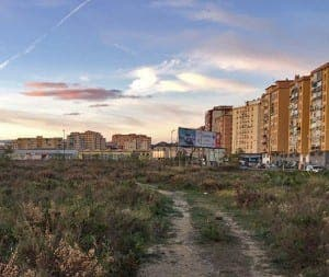 The former Repsol land in Malaga