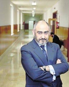 Fraudster and ex PP politician Manuel Rodríguez de Castro