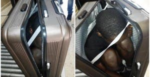 The Sub Saharan teen found in a suitcase bound for Ceuta from Morocco